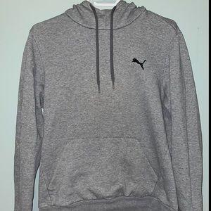 PUMA Classic Grey Pullover Hoodie
